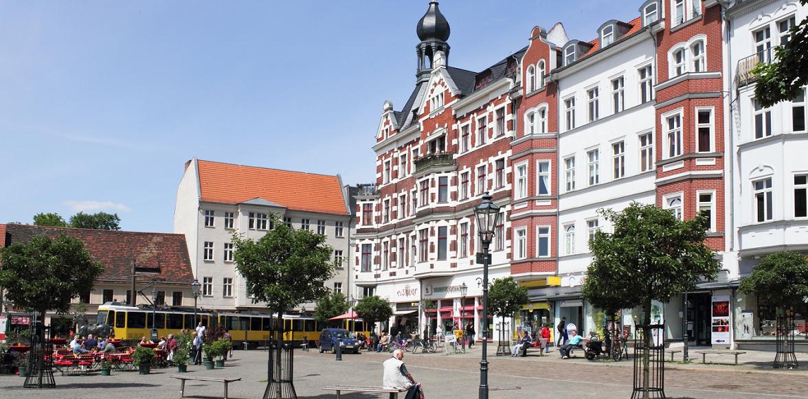 Ein Foto von der Altstadt Köpenick