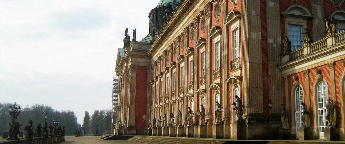 Schloss Sanssouci in Potsdam.