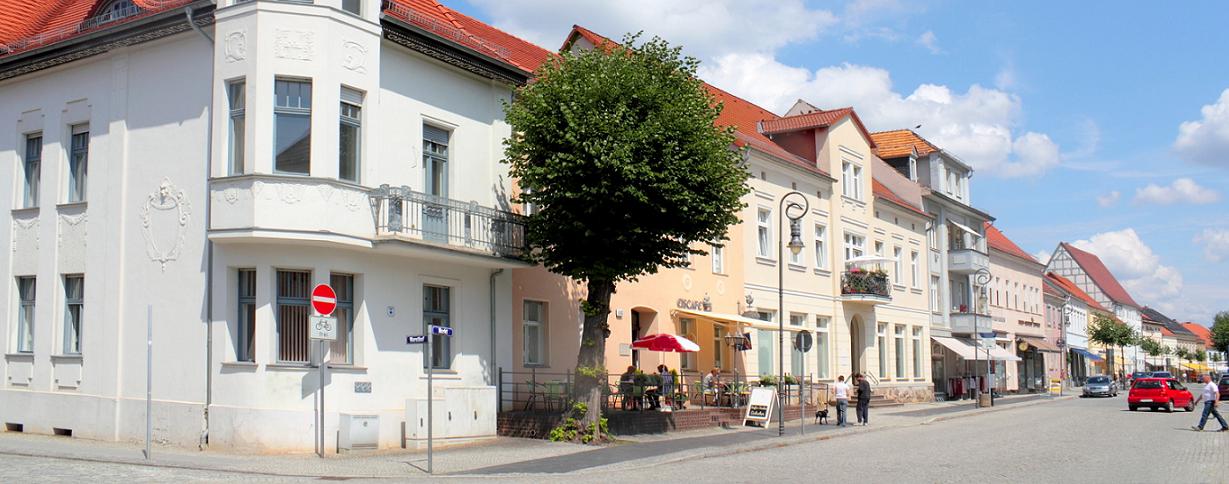 Straßenleben in Jüterbog