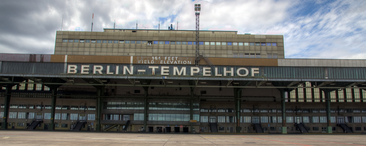 Ehemaliger Flughafen Tempelhof.