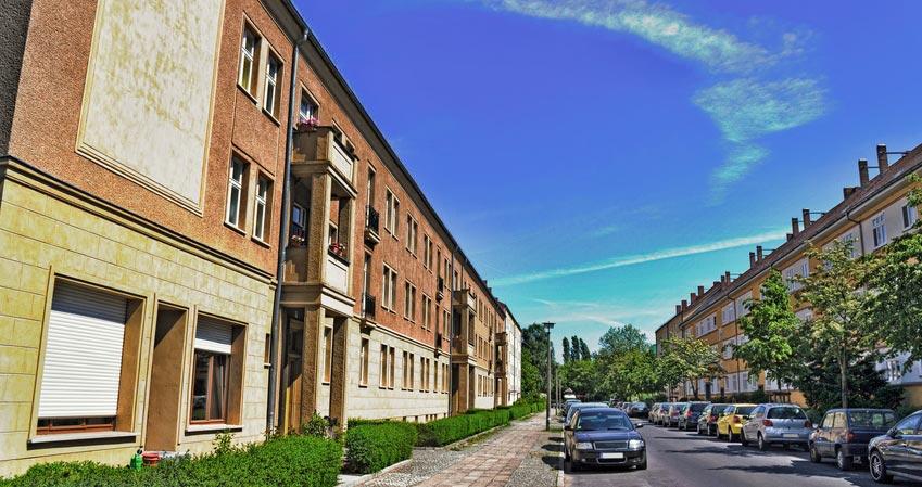Wohnhäuser in Berlin-Adlershof