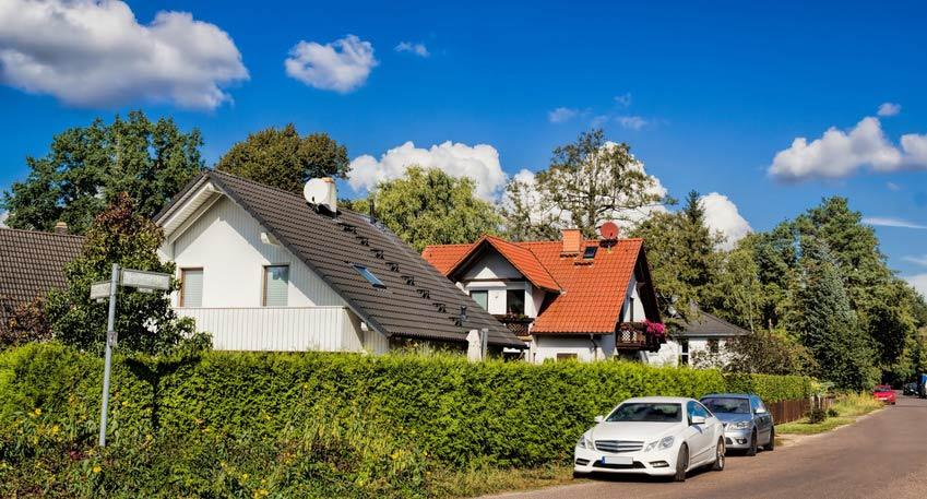 Einfamilienhaus Wohnsiedlung in Buch