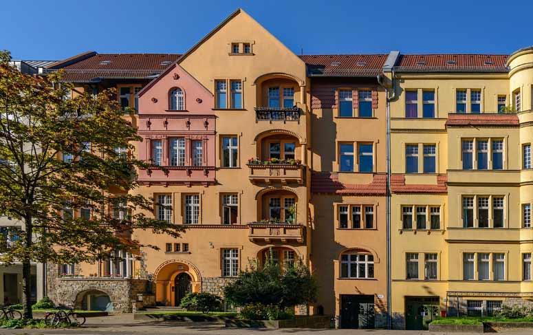 Denkmalgeschütztes Mehrfamilienhaus in Berlin- Treptow-Köpenick