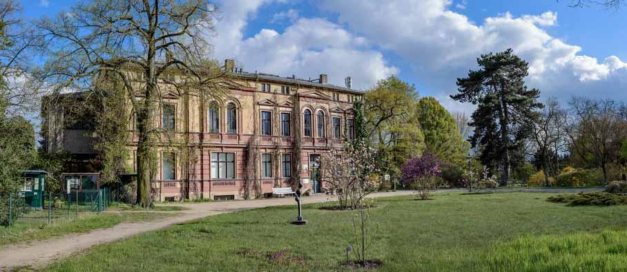 Ehemaliges Herrenhaus Späth in Berlin Baumschulenweg
