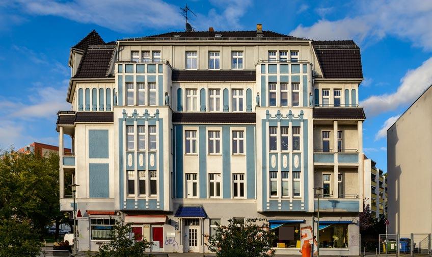 Jugendstilbau Berlin Friedrichsfelde