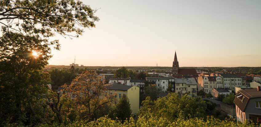 Stadtsilhouette von Eberswalde