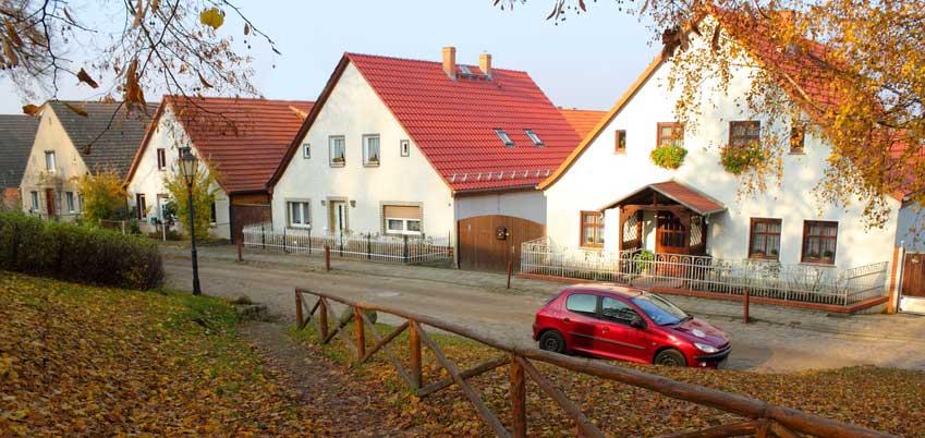 Wohnsiedlung in Vogelsdorf