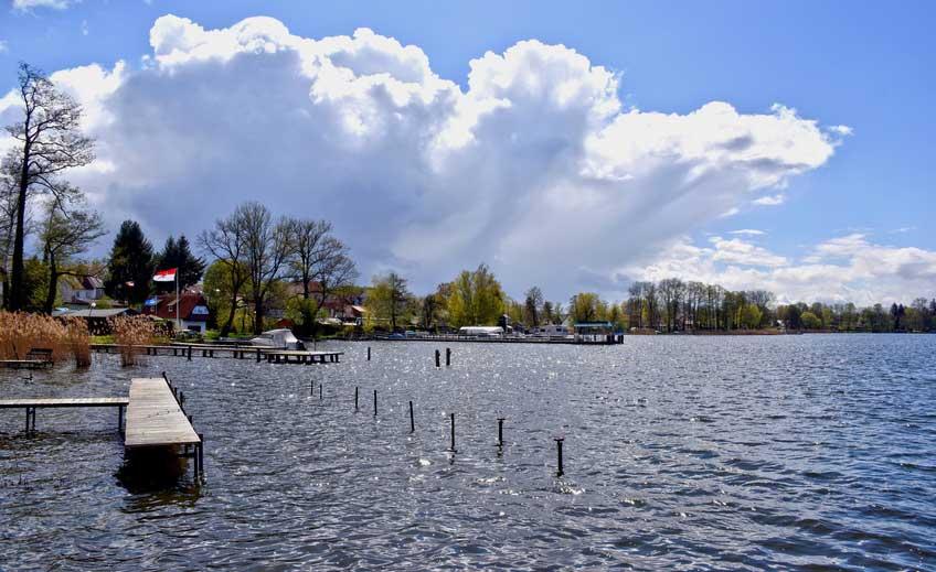 Teupitzer See in Brandenburg
